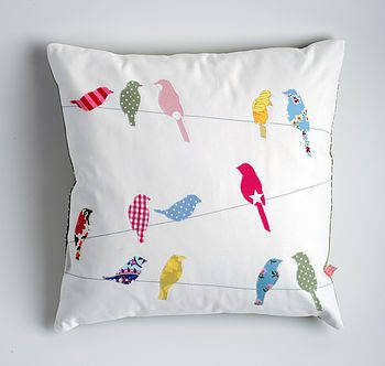 Crafty Stuff, Kindred Rose, Crafty Pants, Housewarming Gift, Living Room, Colours Birds, Wire Cushions, Pillows, Normalcushions5281Jpg 350332