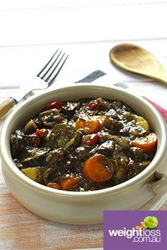 French Beef Casserole. #HealthyRecipes #DietRecipes #WeightLossRecipes weightloss.com.au