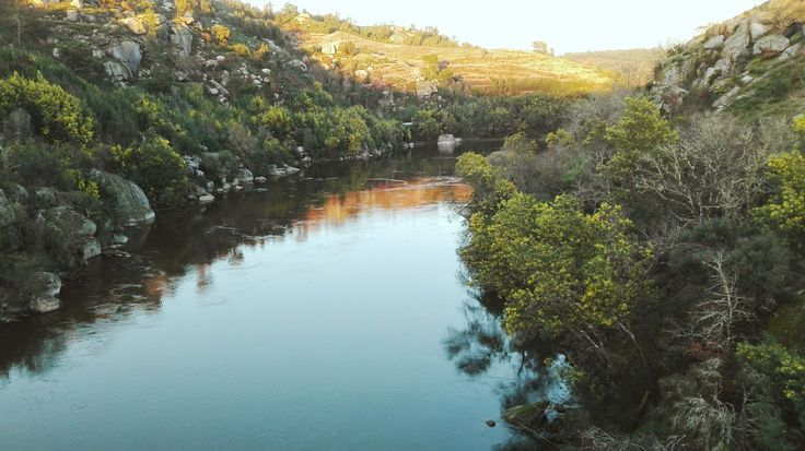 Here we can enjoy Mondego river clear waters #mondego #river #riomondego #serradaestrela #carregaldosal #oliveiradohospital #fiaisdabeira #pontedatalhada #atalhada