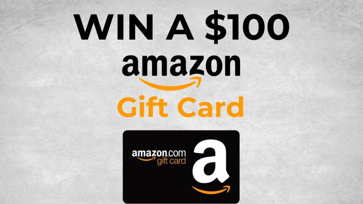 Enter to win a free 100 amazon gift card for 2021