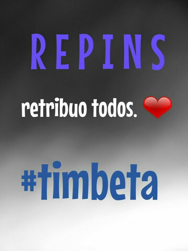 Preciso de #repins