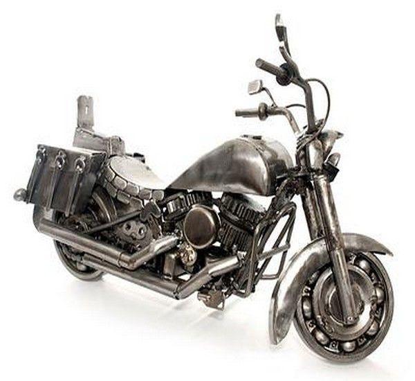 Upcycled Auto Parts Kids Toy Motorbike