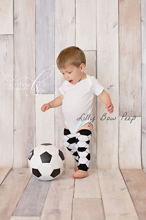soccer Boy or Girl Leg Warmers-Leggings-Baby Pants-Leggings-Newborn Clothes-Infant-Toddler Clothing-Sports-White and Black Leg-World Cup