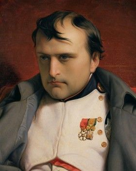 Some days I feel like this.   Napoleon after Waterloo.