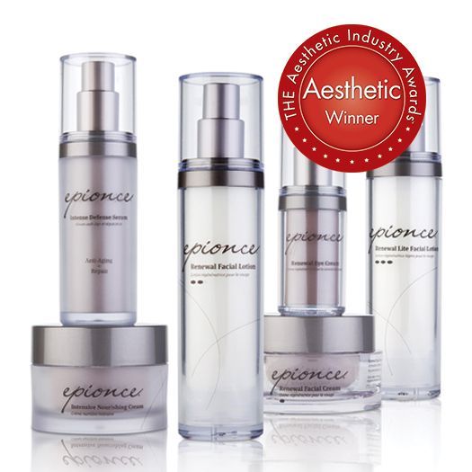 """Epionce was just awarded """"Best Topical Skincare"""" by THE Aesthetic Industry Awards!"""