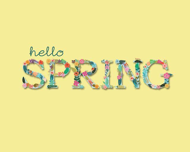 Resultado de imagen de spring starts