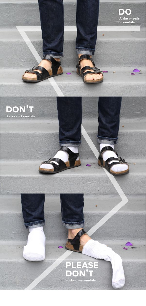 The Dos, The Don'ts and The Please Dont's Of Men's Fashion http://shar.es/IJFfi   #men #fasions #tips