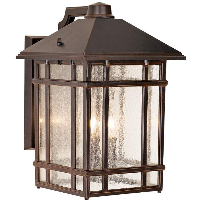 J Du J Sierra Craftsman 15 High Bronze Outdoor Wall Light 25355 Lamps Plus With Images Outdoor Wall Lighting Rustic Outdoor Lighting Outdoor Walls