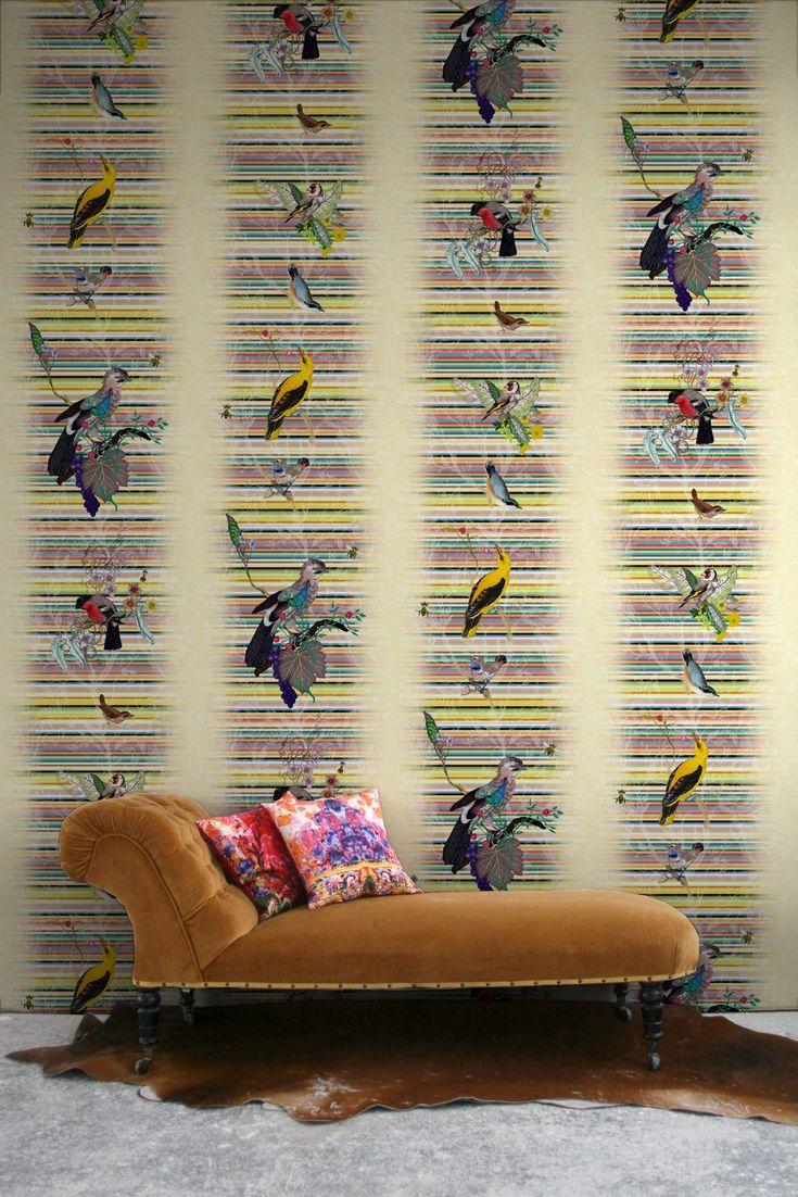 Timorous Beasties British Birds wallpaper