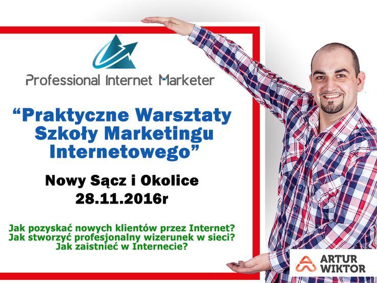 PAMIĘTASZ❓❗❓ 😱 Kolejne warsztaty marketingu Internetowego w Nowym Sączu! 💻 🎓 🔞 Więcej na priv