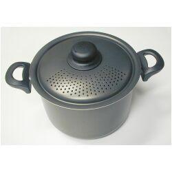 pasta pot strainer locking lid 6 quart products i love pasta cookers pasta cooker. Black Bedroom Furniture Sets. Home Design Ideas