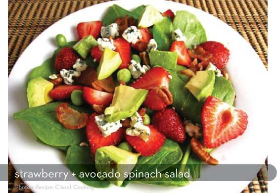 summer saladsFun Recipe, Blue Chees, Avocado Salad, Summer Salad, Spinach Salads, Closets Cooking, Avocado Spinach, Salad Dresses Recipe, Healthy Salad Dresses