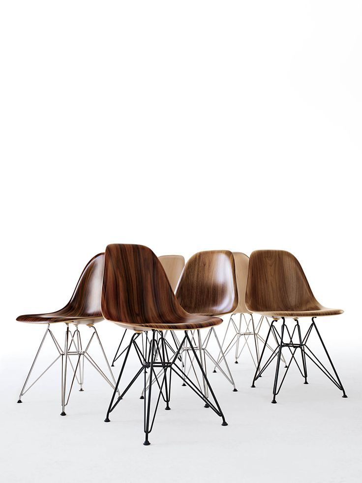 The Eameses were 63 years ahead of their time. Shop the gorgeous (and sturdy) Eames Molded Wood Side Chair at DWR.