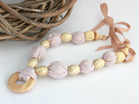 Hey, I found this really awesome Etsy listing at https://www.etsy.com/listing/189567041/lilac-necklace-with-cream-polka-dot