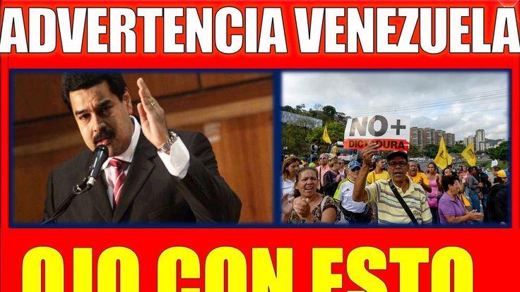 ultima hora VENEZUELA 2 NOVIEMBRE 2017,VENEZUELA Advertencia con Esto OJ...