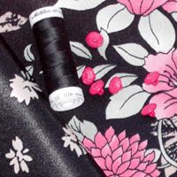 DIY: Madame B, kimono top