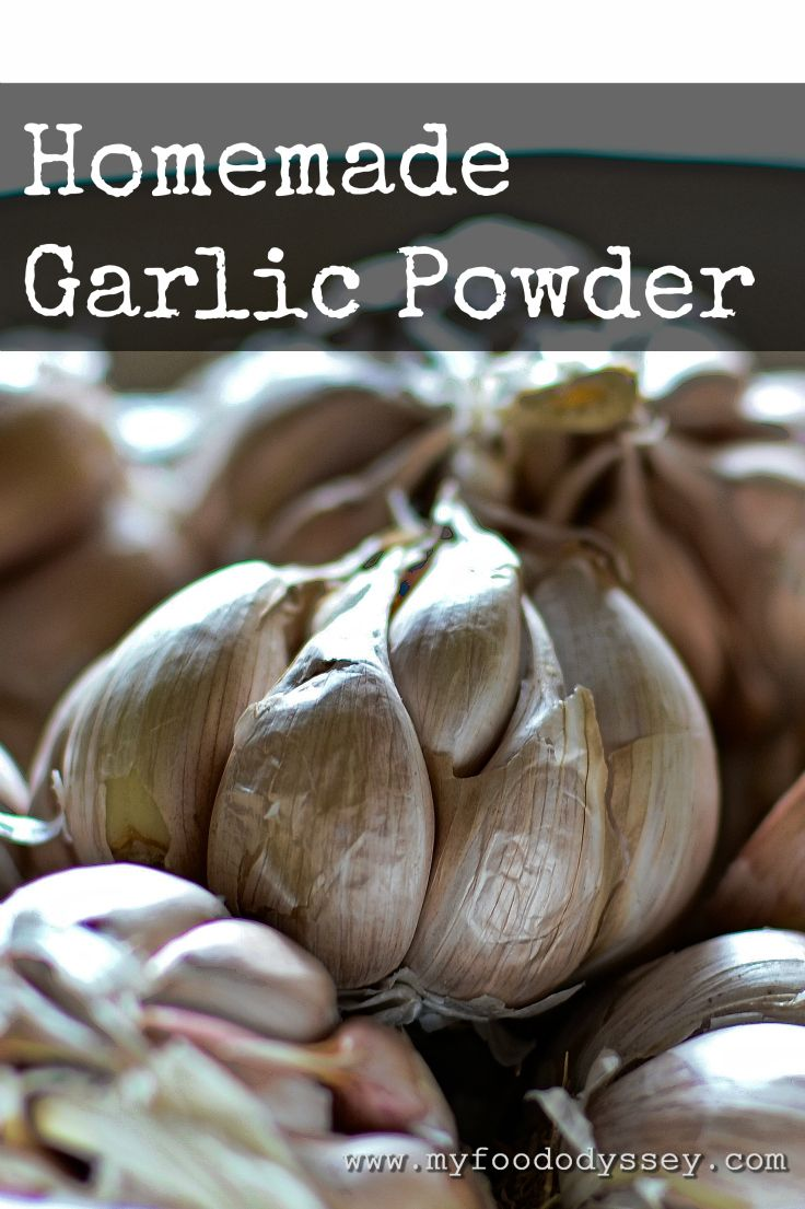This homemade garlic powder contains nothing but 100% home-dried garlic. The…