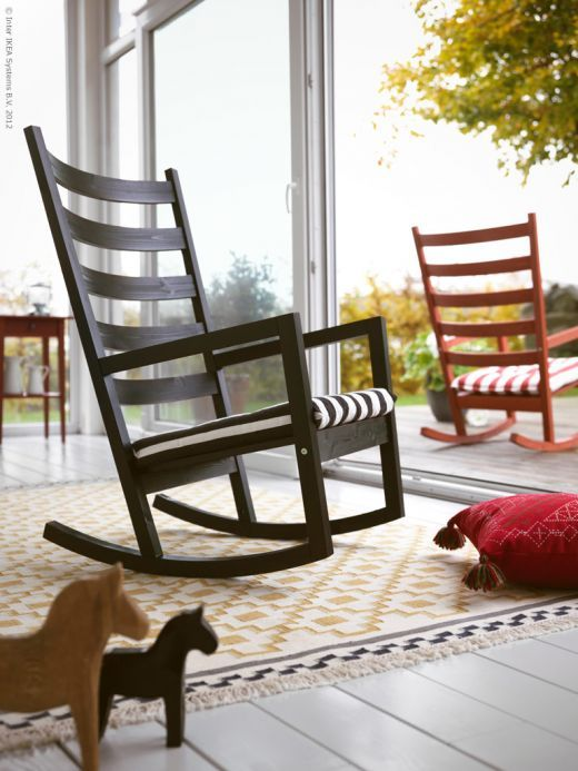 home chairDecor, Rocks Chairs,  Rocker, Ikea Rocks, Rocking Chairs, Outdoor Chairs, Dreams House, Baby Room, Front Porches