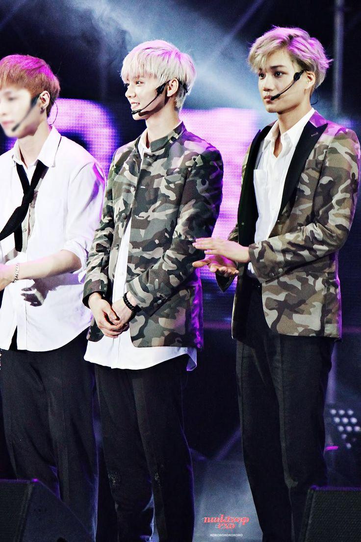 Lay, Luhan and Kai