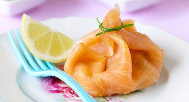 Aumônières de saumonVoir la recette des Aumônières de saumon >>