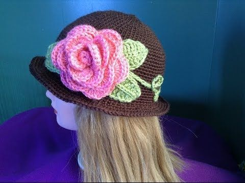 This is the flower part... need to find & pin the hat as well - may be a two part video....