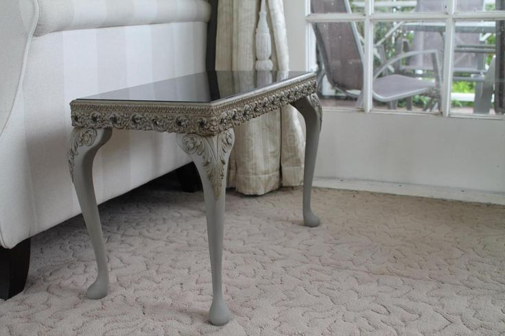 Results at home from our previous workshop attendees- Paris Grey Chalk Paint™ and Dark wax by Lisa C