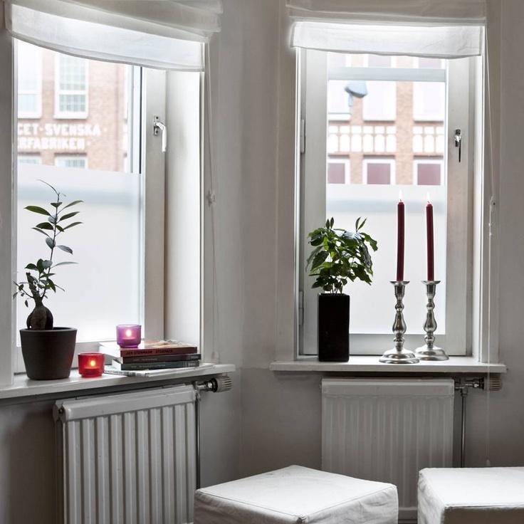 Fönsterfilm - Frost Många olika storlekar  30x100 159kr