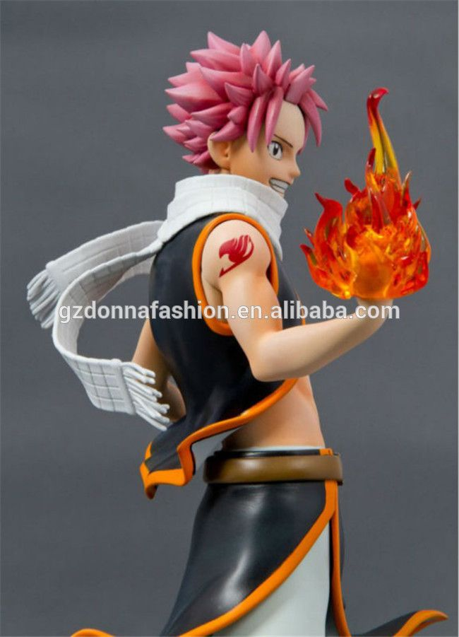 "Anime Fairy Tail Natsu Dragneel PVC Action Figure Collectible Model Toy 9"" 23cm, View Fairy Tail Natsu, donnatoyfirm Product Details from Guangzhou Donna Fashion Accessory Co., Ltd. on Alibaba.com"