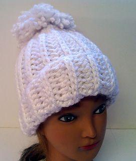 Chunky Snowboarder Hat (Chloe Kim) pattern by Jennifer MacEwen ... 12296d9e349