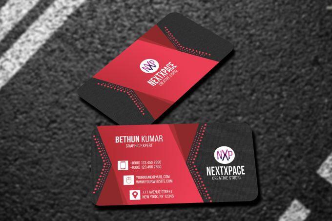 Design Business Card For Vista Moo Got Print
