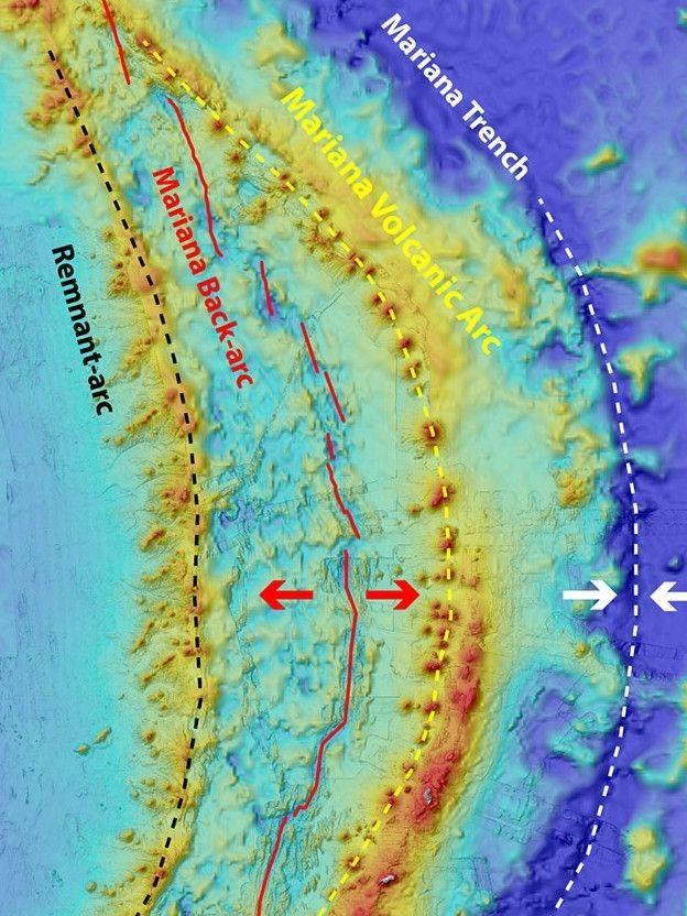 Fossa das Marianas é a região oceânica mais profunda da Terra (Foto: NOAA)