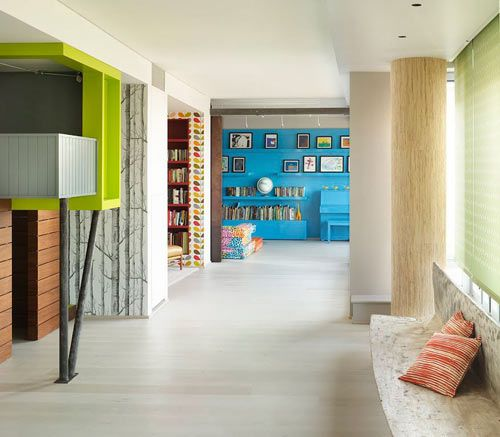 Colorful, Modern Kid Friendly Apartment By Incorporated Architecture U0026  Design Ideas