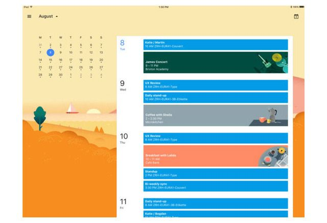 Google Calendar gains native Apple iPad interface with latest iOS update #AppleNews #TechNews