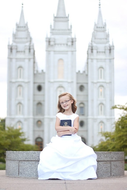 Baptism pictures - darling photo!