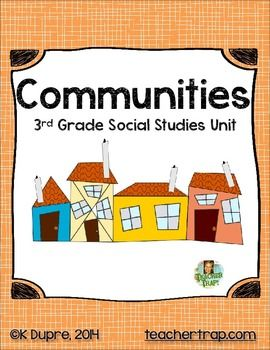 Communities Unit for 3rd Grade Social Studies  Check out www.NYHomeschool.com as well.