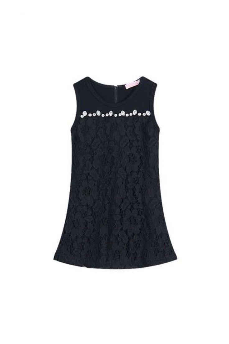 Lace Dress - Black Izzybizzi Kidswear!