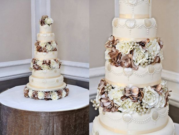 Cakes by Shelly to Match Your Wedding Dress - Vera Wang, Carolina Herrera, Reem Acra + Moniqui Lhuillier   OMG I'm Getting Married UK Wedding Blog   UK Wedding Design and Inspiration for the fabulous and fashion forward bride to be.