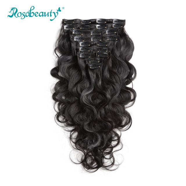 140G Clip In Hair Extensions body wave★ Quality product and excellent customer service.★ Ships to more than 200 countries and regions, such as USA, UK, AUSTRALIA.