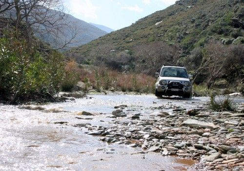 4x4 off road lefka Andros