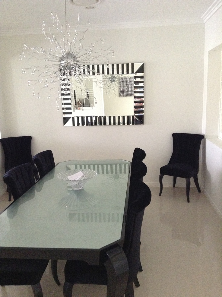 My dining room, I think I need a black feature wall !
