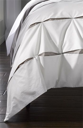 Nordstrom at Home 'Contrast Pleat' Duvet available at Nordstrom