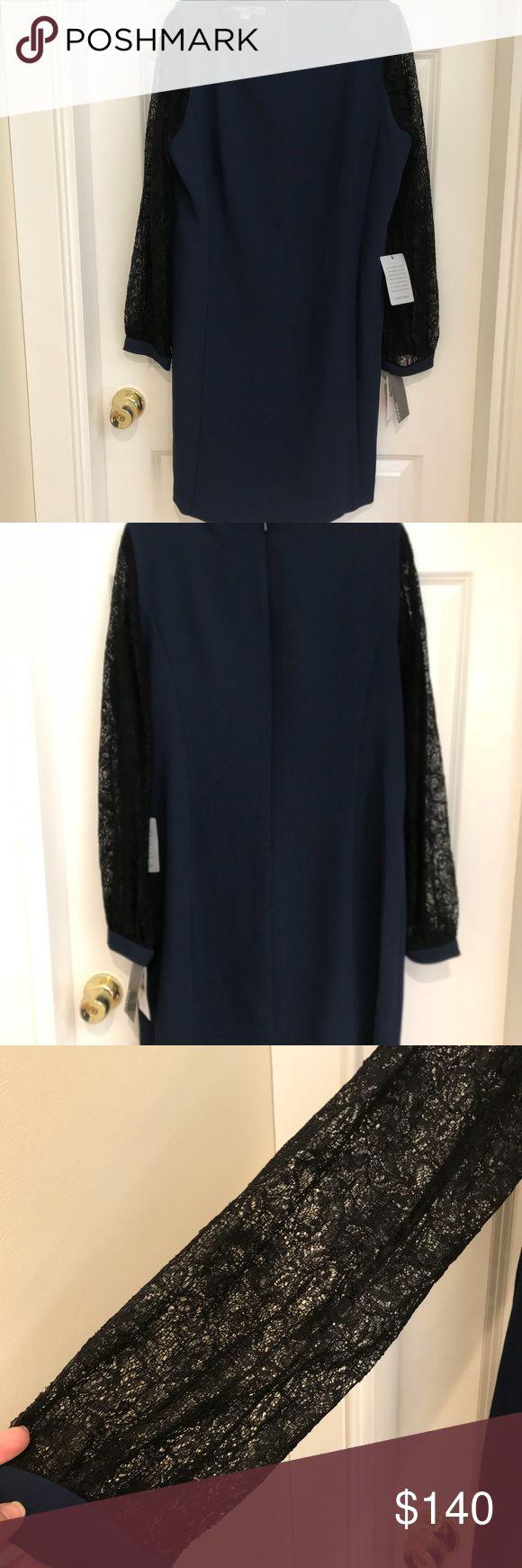 I just added this listing on Poshmark: Donna Ricco Navy/Black Dress Size 14. #shopmycloset #poshmark #fashion #shopping #style #forsale #Donna Ricco #Dresses & Skirts
