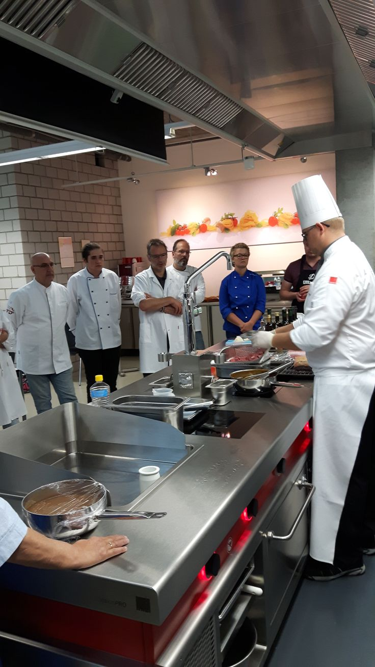 Immer interessant - Salvis smart cooking Seminare- Kochen mit System