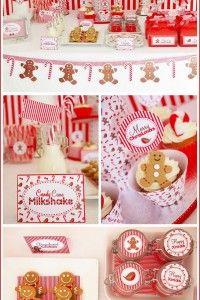 Candyland Christmas Dessert Bar