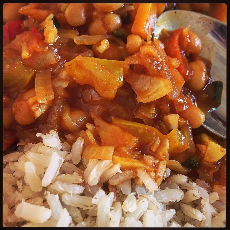 Chakalaka met rijst... #eten