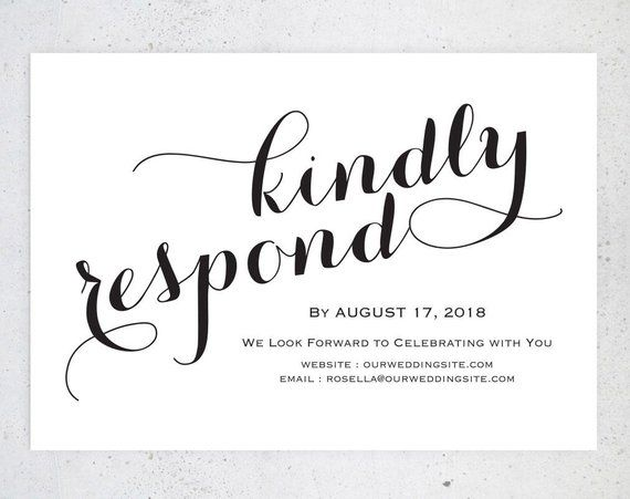 Rsvp Postcards Templates Wedding Rsvp Cards Rsvp Online Etsy Rsvp Wedding Cards Rsvp Postcard Rsvp Wedding Cards Wording