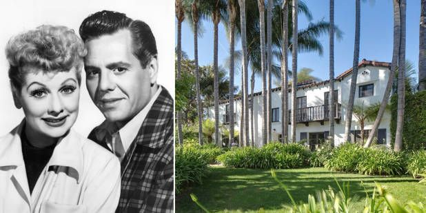 Old Hollywood Homes - Old Hollywood Stars Home - House Beautiful  Lycille Ball adn Desi Arnaz