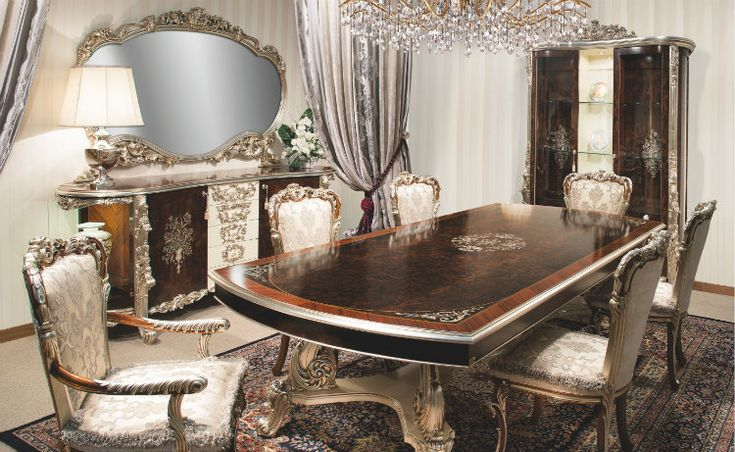 Italian Dining Room Table, High End Dining Room Tables And Chairs