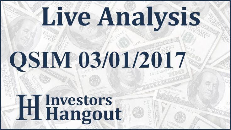 $QSIM Stock Live Analysis 03-01-2017 QuantumSphere Inc. (QSIM): $QSIM Stock Live Analysis 03-01-2017 QuantumSphere Inc. (QSIM)