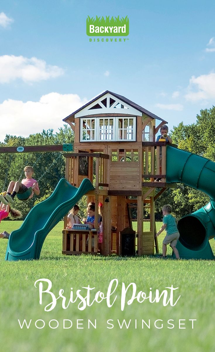 Building A Playset Has Never Been Easier The Bristol Point Has 16